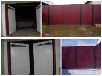 Железные гаражные ворота