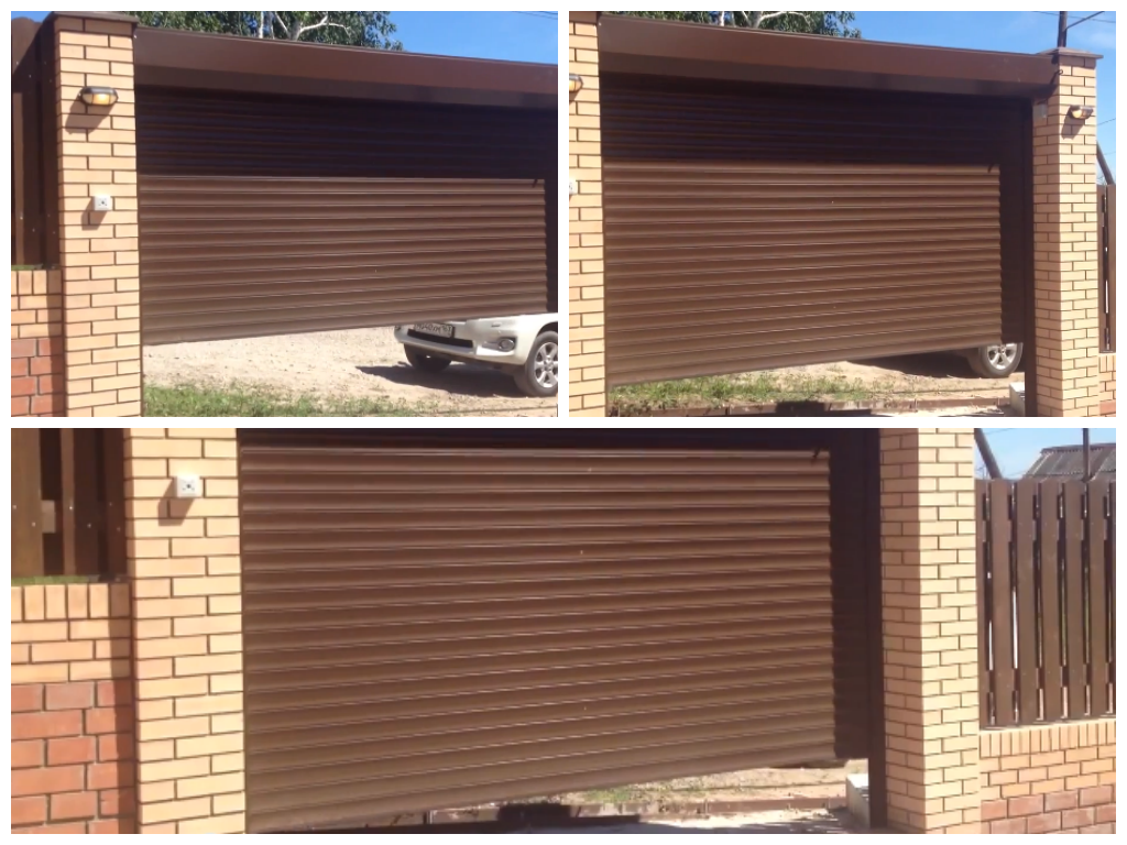 Цены на рулонные ворота для гаража
