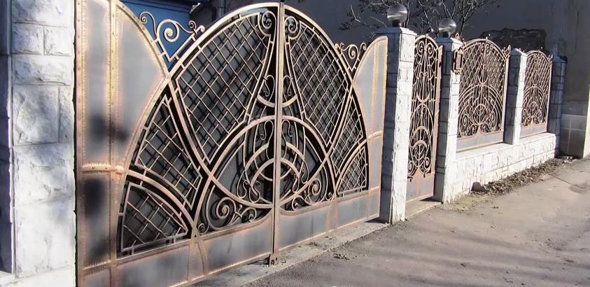 Кованые заборы в Нижнем Новгороде