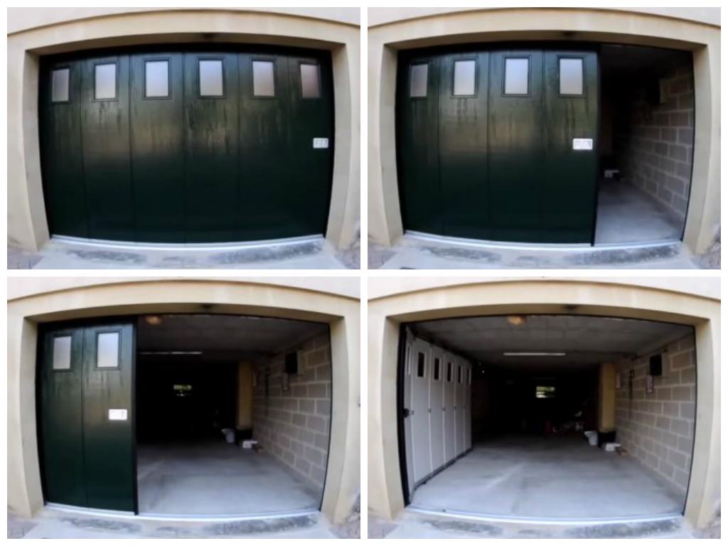 Раз видные ворота в нижнем цвета профнастила для забора