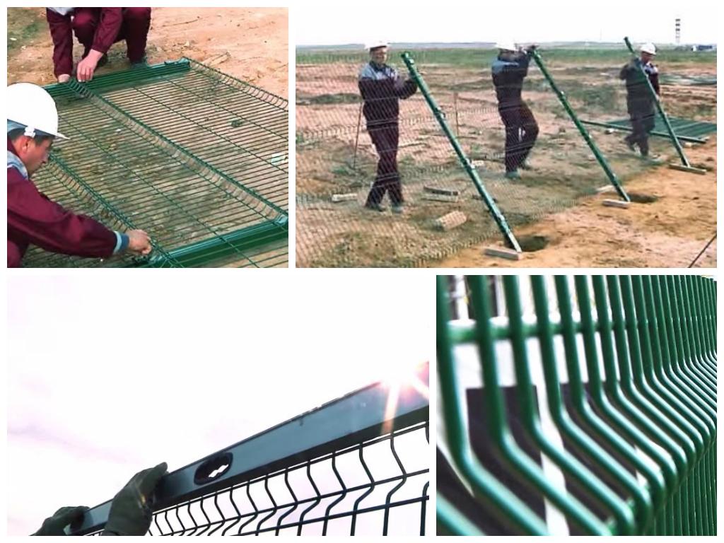 Купить секционный забор