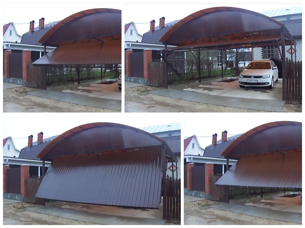 Подъемные ворота в Нижнем Новгороде
