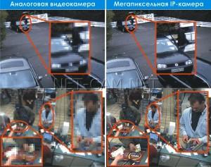 Камера видеонаблюдения с высоким качеством
