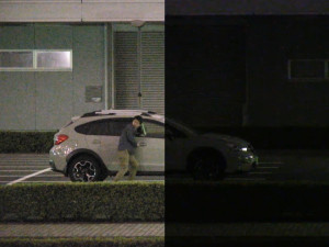 Цвет и контраст на камере видеонаблюдения
